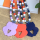 China Manufacturer Custom Fashion Silicone Teething Necklace