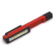 150 Lumen Pen Shape Working Light Super Bright Plastic COB LED Magnetic Inspection Working Light Torch