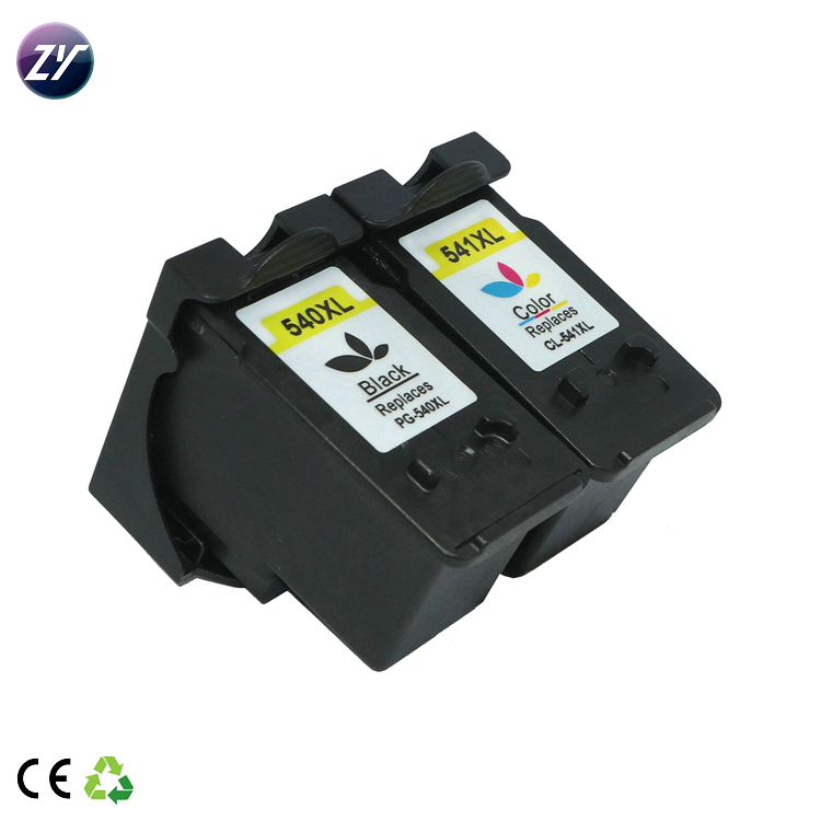 Cartucho de tinta remanufactured característica PG-540 XL CL-541XL