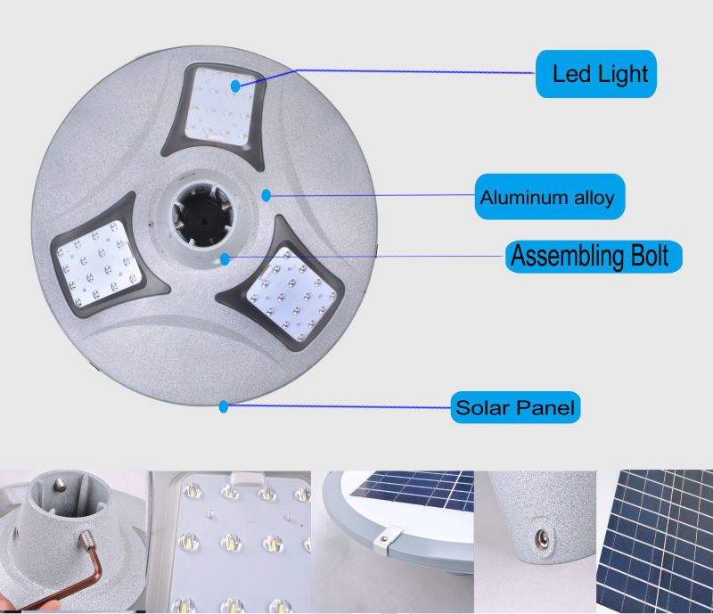 Cheap All In One Integrated Solar Lights Outdoor Waterproof