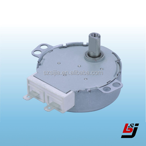 high torque low rpm gear motor synchronous motor for microwave oven