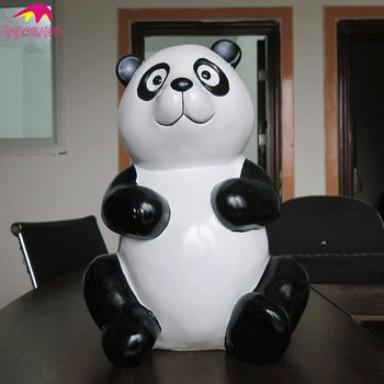 Kano0334 Shopping Mall Kids Attraction Life Size Panda Statue Buy