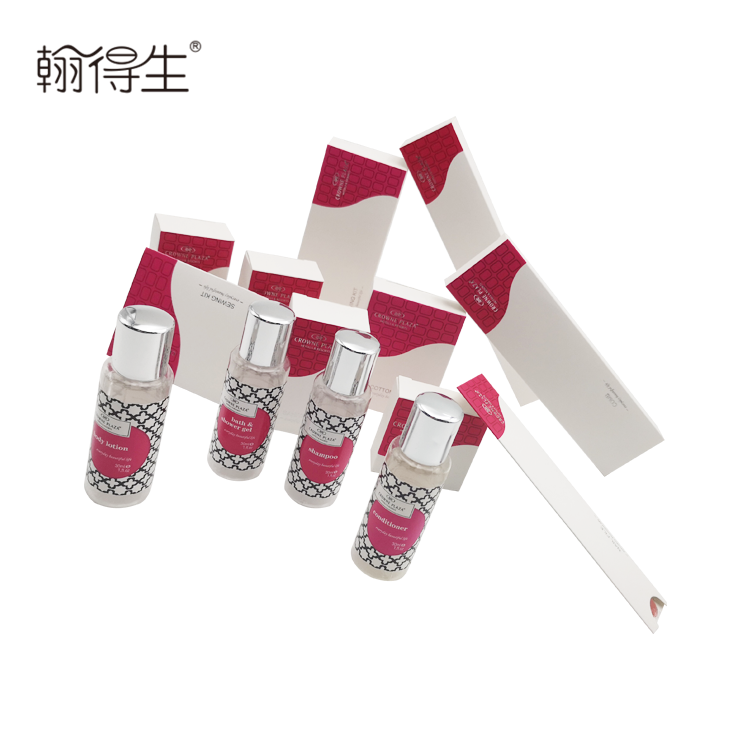 Chinese organic hotel amenity products manufacturer with high quality