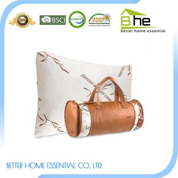 comfortable therapeutic bamboo shredded memory foam pillow