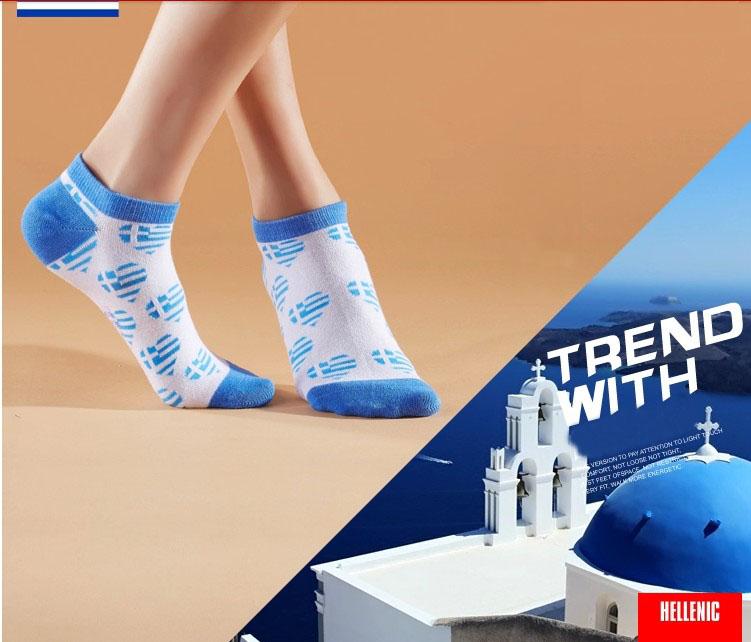 2014 Hot Girls Ankle Socks Strip Crew Socks - Buy Pretty Girls ...