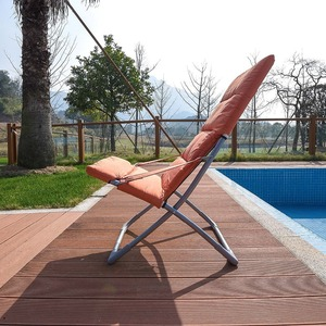 Summer Patio Beach Portable Folding Chair Relax Chair Foldaway Garden Deck Chair
