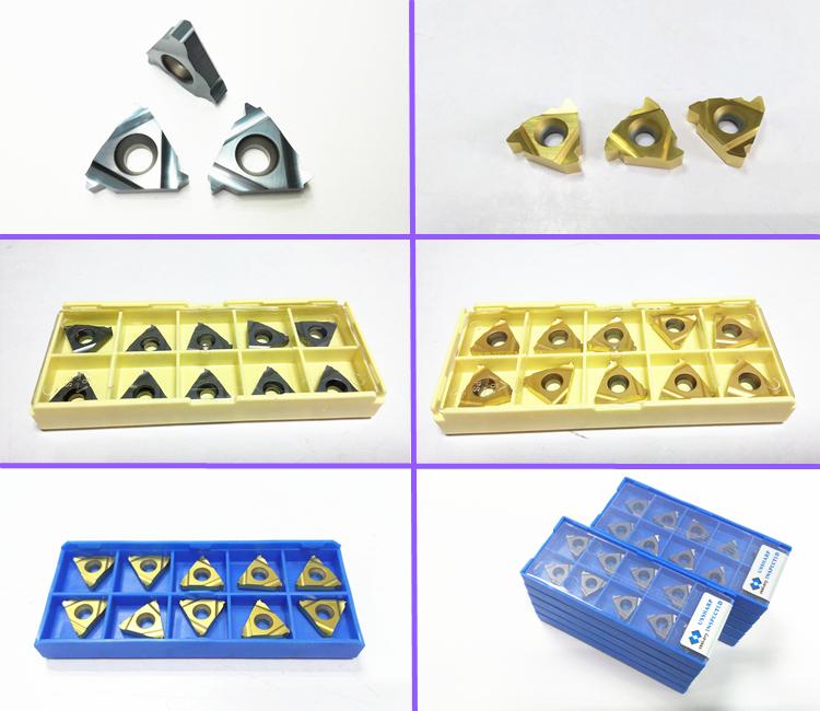 16ER 3.0 ISO thread insert tungsten carbide internal cutting type
