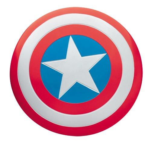 Marvels Super Hero Captain America Shield Logo Silvertone Metal TIE CLIP