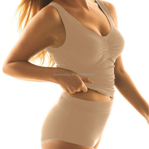 High Quality ladies compression seamless slimming undershirt
