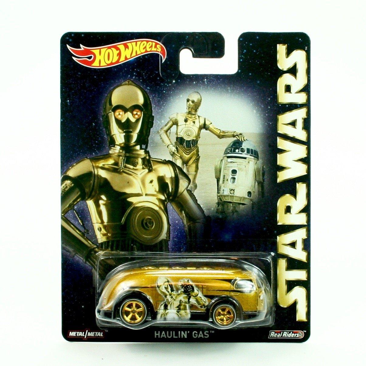 HAULIN' GAS * C-3PO * Hot Wheels 2015 Pop Culture STAR WARS Series Die-Cast Vehicle