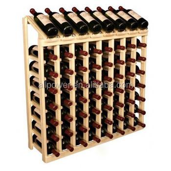 Estanterias para vino estante para vinos de madera esigo - Estanterias para vino ...