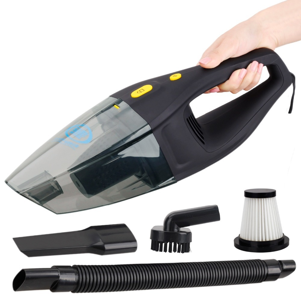 Get quotations high power portable wet and dry car vacuum cleaners real 120w 4000pa super car mini vacuum