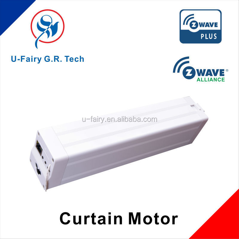 Z-wave smart home Curtain Motor not including track