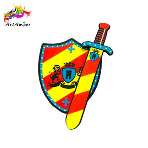Good quality kids foam toys EVA arrow and shield set