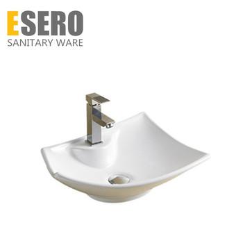 NO.234A Ceramic One Shape Hand Wash Triple Basin Sink Terrazo Space Saving  Bathroom