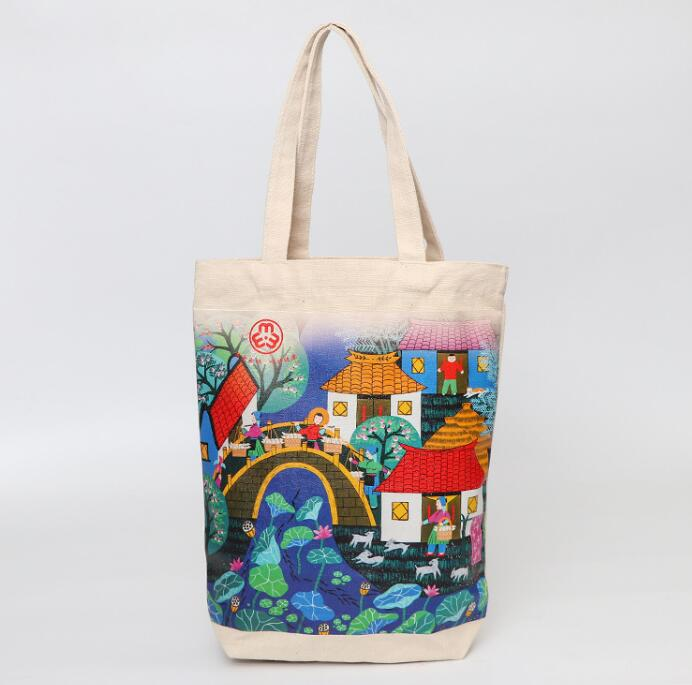 print canvas tote bag <strong>promotion</strong> for gifts