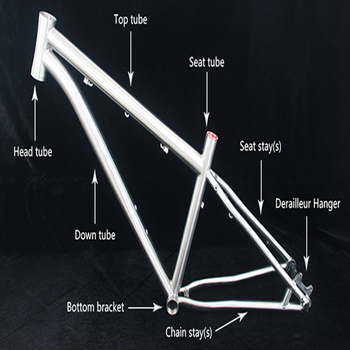 Chinese 26er titanium bike frame for mountain bikes