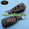 Best price 2+1 buttons plastic remote control case for hyundai tucson key hyundai remote key case