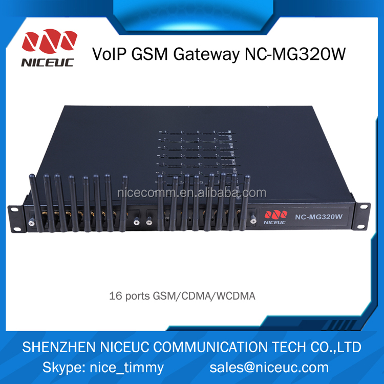 4 channels voice over ip GSM gateway / pstn to gsm