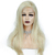 Discount 10A 150% Density Peruvian Human Hair Wigs Straight Glueless Blonde Full Lace Front Wig 613