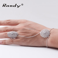 Fashion Jewelry Wholesale Cheap Price Diamond Ring And Bracelet Set For Promotion