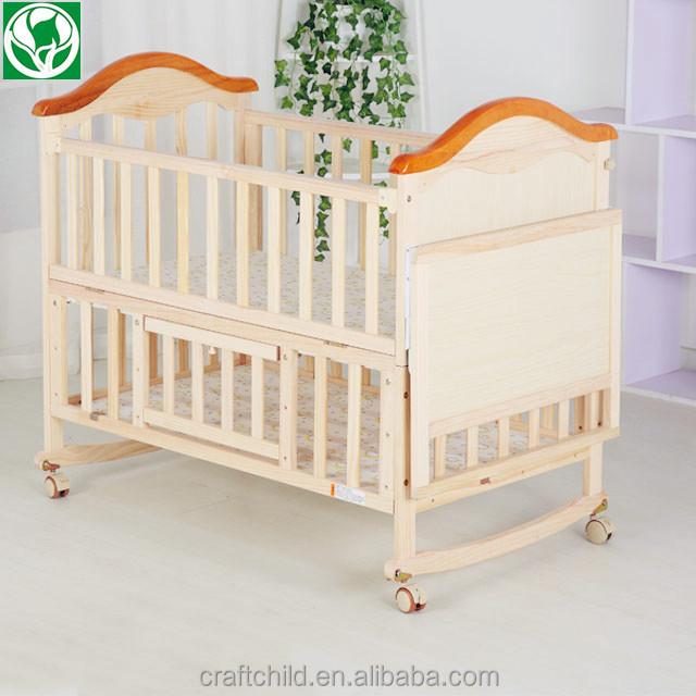 Descuento al por mayor reborn muebles del bebé cuna de madera precio ...