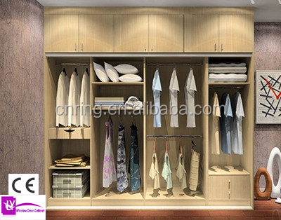 Wooden Wardrobe Cabinet Closet Without Sliding Doors, Wooden ...