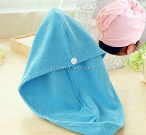 Ultra absorbent Micro fibre hair towel/turban/ Microfiber quick dry hair turban