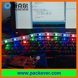5V SMD5050 32LED/meter Arduino supported addressable ws2801 based RGB LED strip