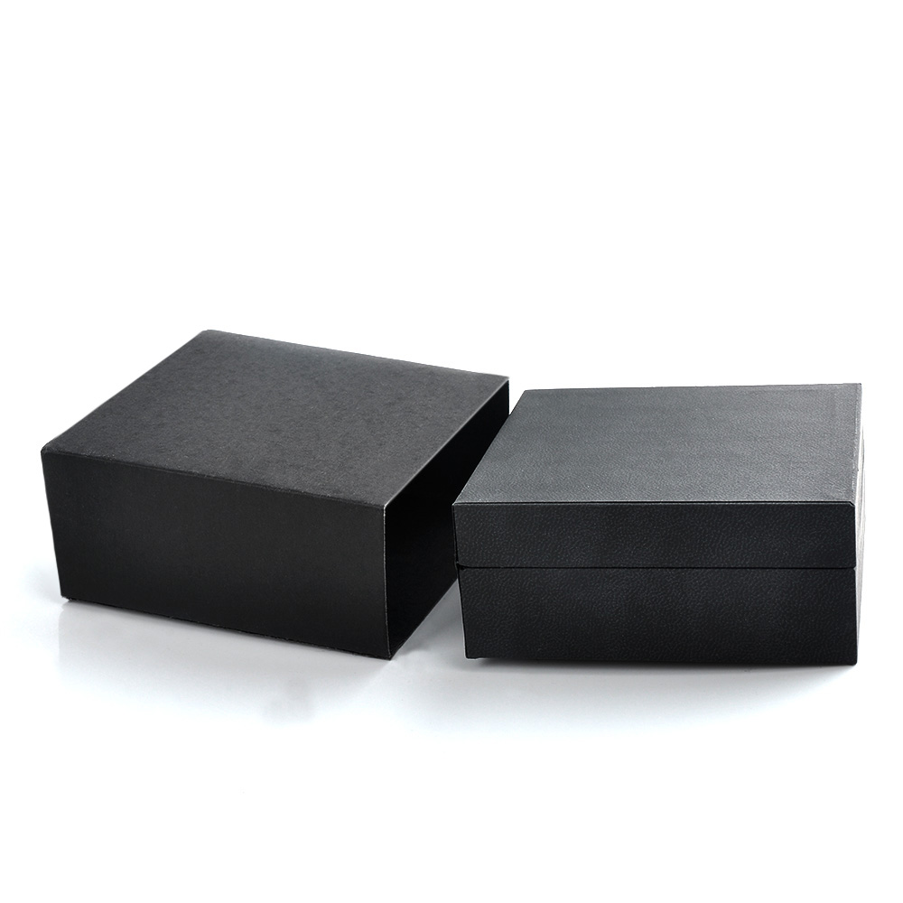 Factory Customized Luxury Packaging Kraft Paper Jewelry Box Making Supplies