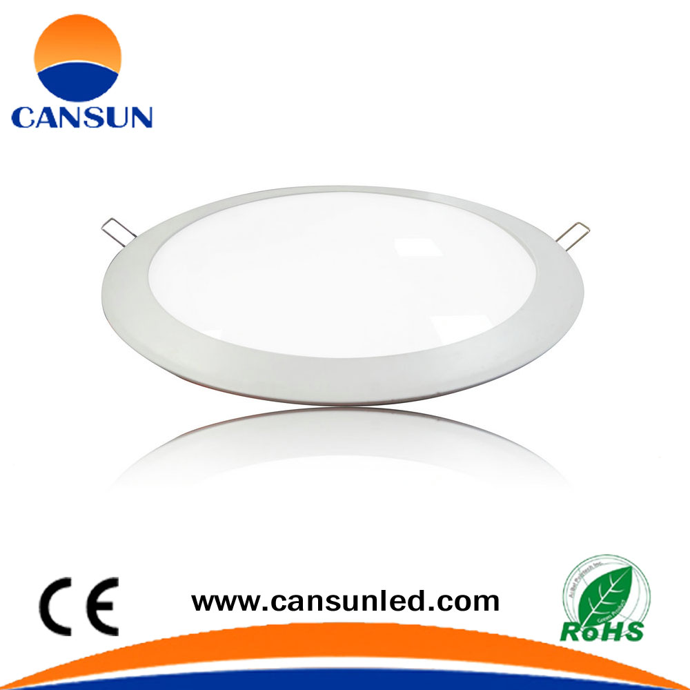 18W Ultra slim embedded round led panel light ceiling light for home and office led light panel