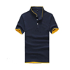 Men's Cotton Short-Sleeved T-Shirt Custom Cotton Polo Shirt