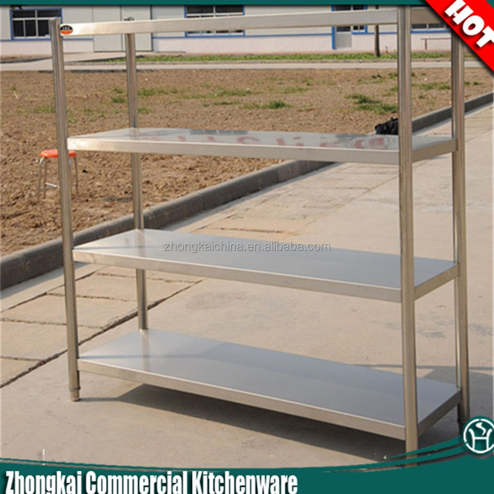 Steel Shelf For Kitchen Restaurant Kitchen Stainless Steel Shelves 4 Tiers Adjustable