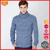 New long sleeves merino wool sweater mens knit turtle neck sweater