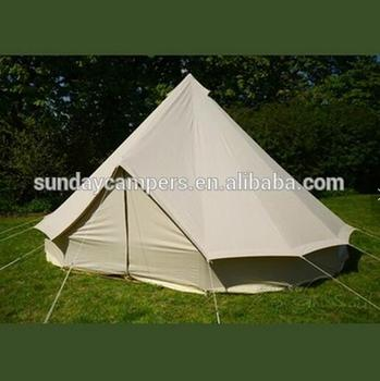 Round circle Best Quality UK C&ing Outdoor Cotton 5m Bell Tent : best quality tent - memphite.com
