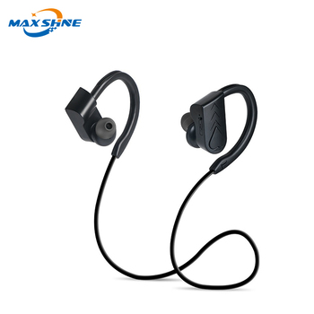 Maxshine blue tooth earbuds sports headphones wireless sport blue tooth noise reduction headphone