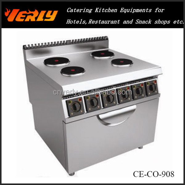 electric range with 4-burner & oven CE-CO-908