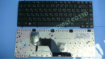 Original new Laptop keyboard For hp elitebook 8440p 8440w black RU layout with point stick v103102cs1