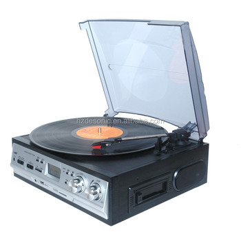 High End Quality Vinyl Record 3 Spped Turntable Record Player With Stylus  Needle - Buy High End Vinyl Record Turntable,High End Vinyl Record