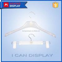 2016 New Style Fashion White Plastic Metal Cloth Hanger Hook