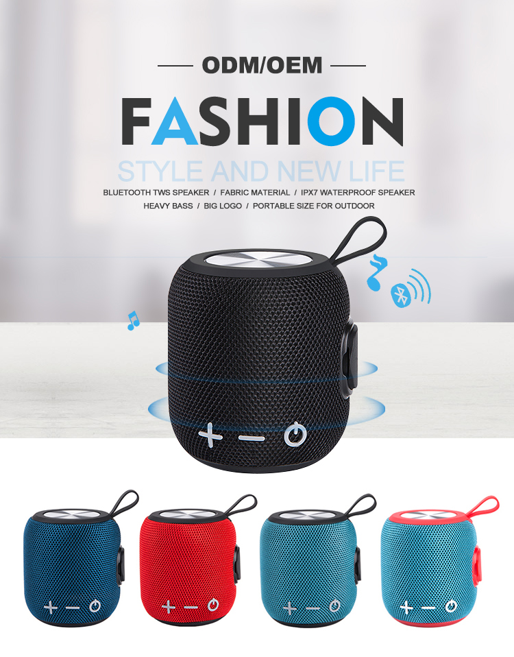 Reasonable Price Stereo Speakers Wireless  Portable Blue Tooth Speaker