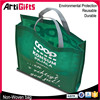 Factory direct sale custom printed non woven shopping bag