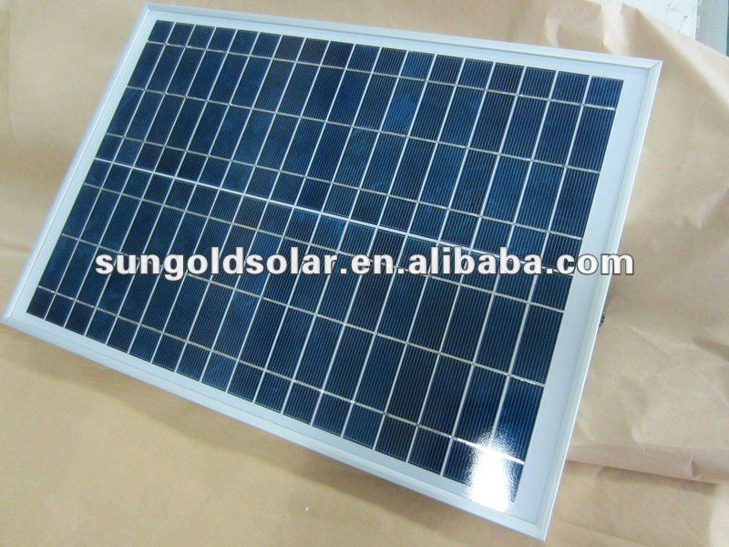 5W18V small size poly solar panel