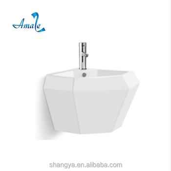 Amaze Y Hot Sale Modern Bathroom Sink Wall Hung Basin Water - Modern bathroom sinks for sale