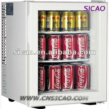 28litres clear glass door hotel mini mini bar fridge for guest room - Mini Fridge Glass Door