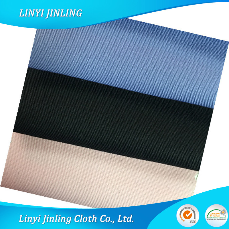 Dyed 65%Poly 35%Cotton Textile Poplin Shirt 133x72 TC Fabric Linyi Factory