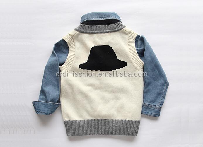 f7864ed2661e Wholesale Custom Fancy Design V Neck Baby Boys Kids Sleeveless ...