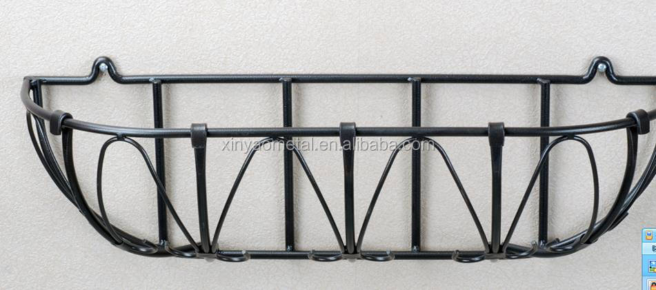 Metal Wall Planter wall planters large planters wrought iron wall planter metal