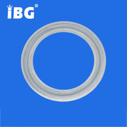 Clear Silicone Rubber o-ring Tri Clamp Gasket
