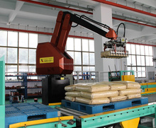 high speed pick and place robot and pallet stacking systems / robot palletizer